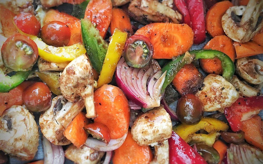 Verduras caramelizadas