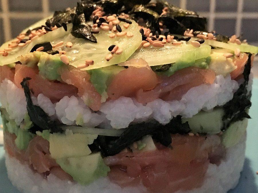 El sushi, el arroz y yo