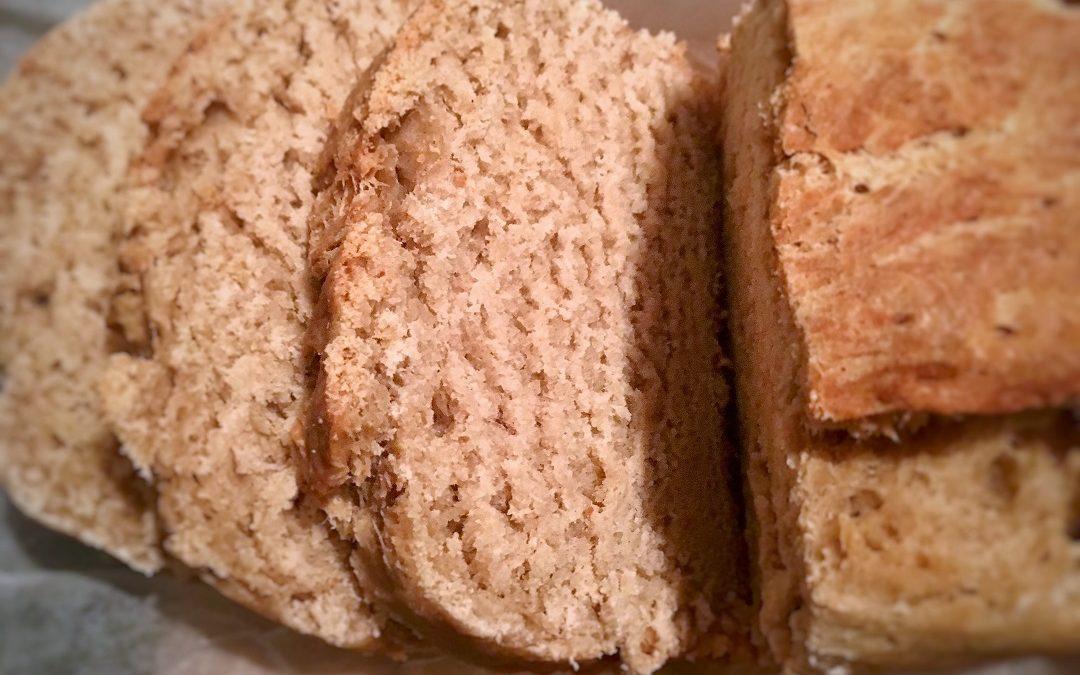 Pan de crema agria