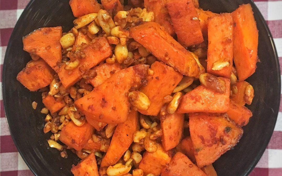 Batata dulce y spicy